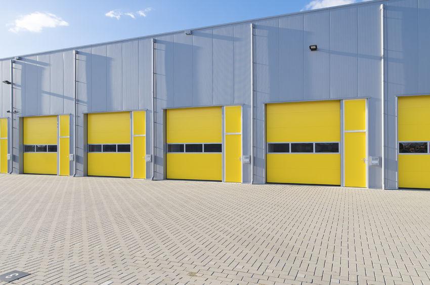 Commercial Rollup Garage Doors