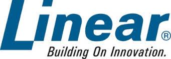 linear brand logo