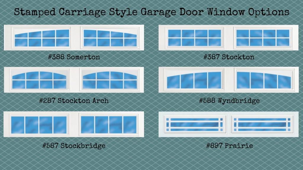 stamped-carriage-style-garage-door-window-options