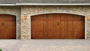 Faux Finish Garage Doors