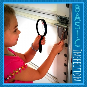 garage door basic inspection