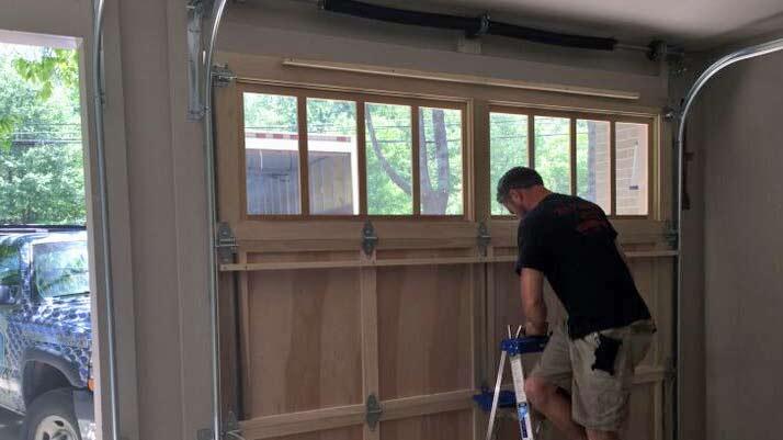 At Home Garage Door Maintenance