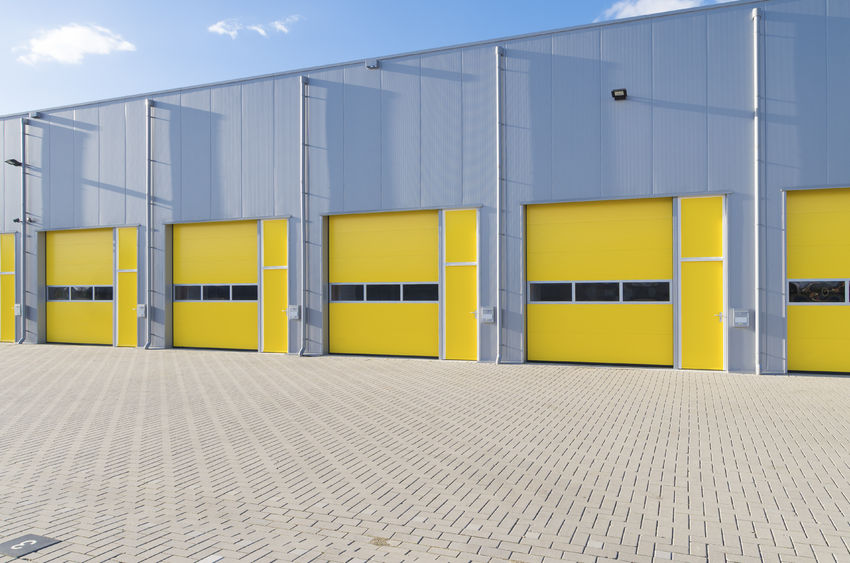 Commercial Rollup Garage Doors