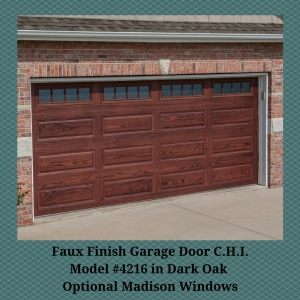 Faux Finish Garage Door C.H.I.