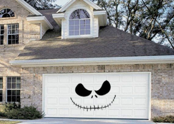 Jack Skellington Garage Door
