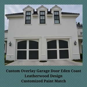 Overlay Garage Door Eden Coast Custom Design and Paint Options