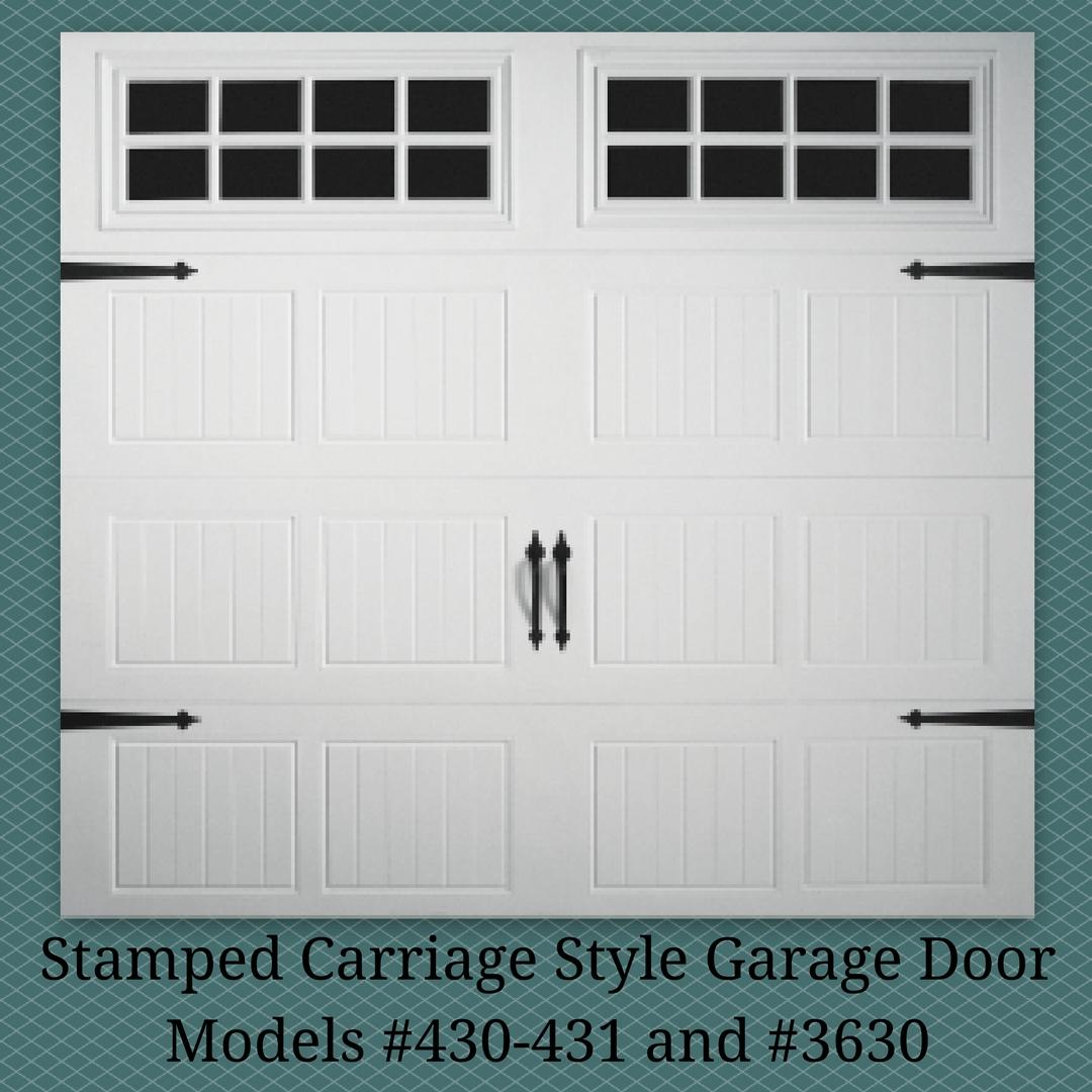 Stamp Carriage Garage Door Installation Atlanta Ga