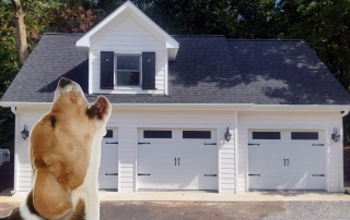 Dog Howling at Squeaky Garage Doors