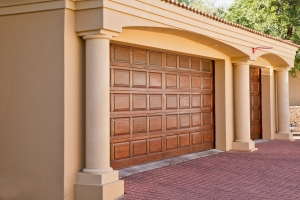 fancy garage door