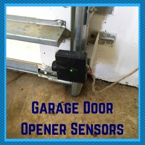 garage door opener sensors