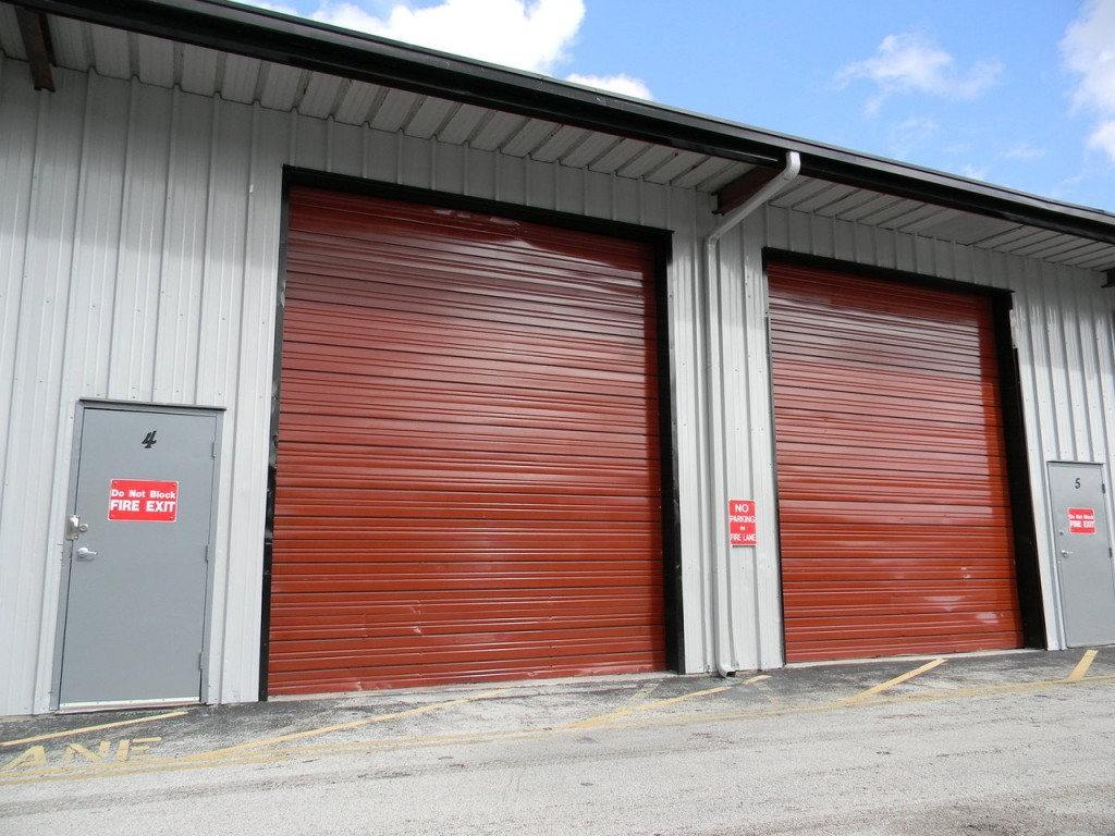 Industrial Rollup Garage Doors
